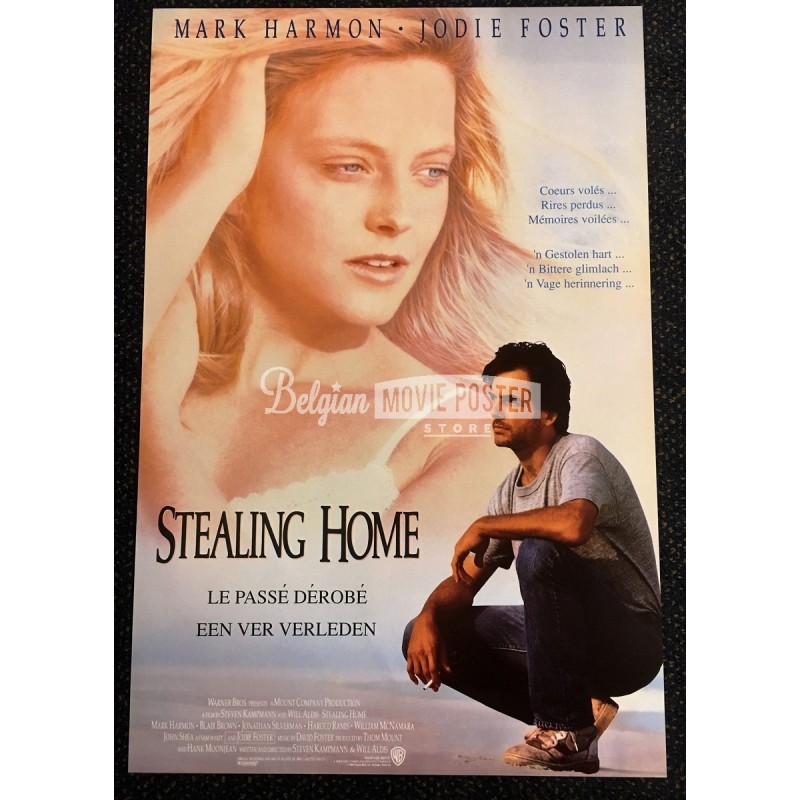 Stealing home movie poster