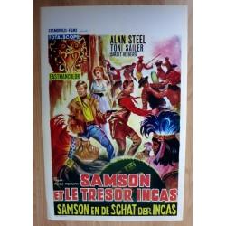 SAMSON AND THE TREASURE OF THE INCAS