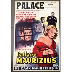 AFFAIRE MAURIZIUS