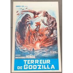 TERROR OF GODZILLA