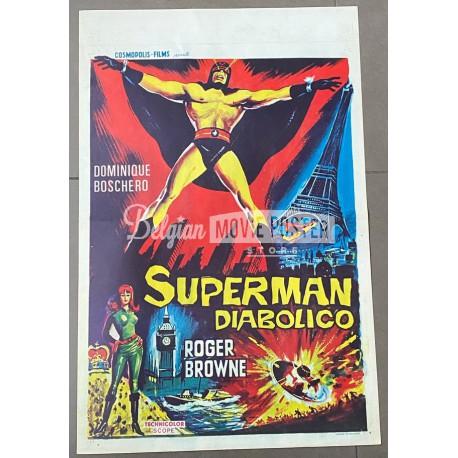 SUPERMAN DIABOLICO (ARGOMAN)