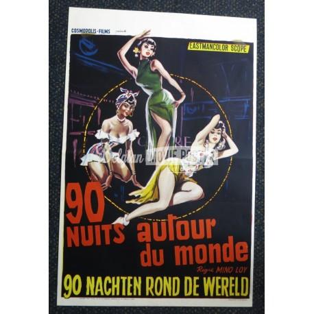 90 NIGHTS AROUND THE WORLD