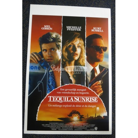 tequila sunrise belgian movie poster store