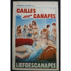 CAILLES SUR CANAPES