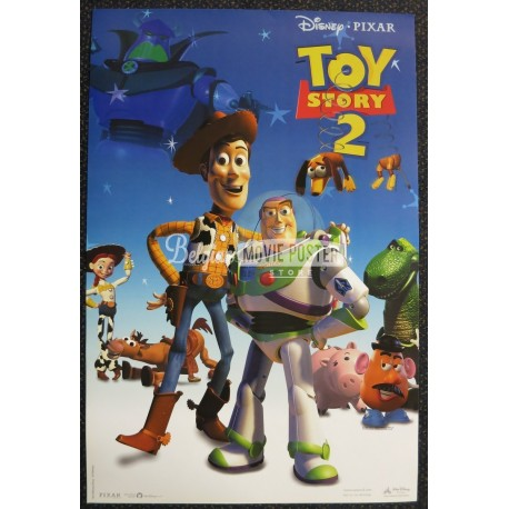 toy story 2 belgian movie poster store