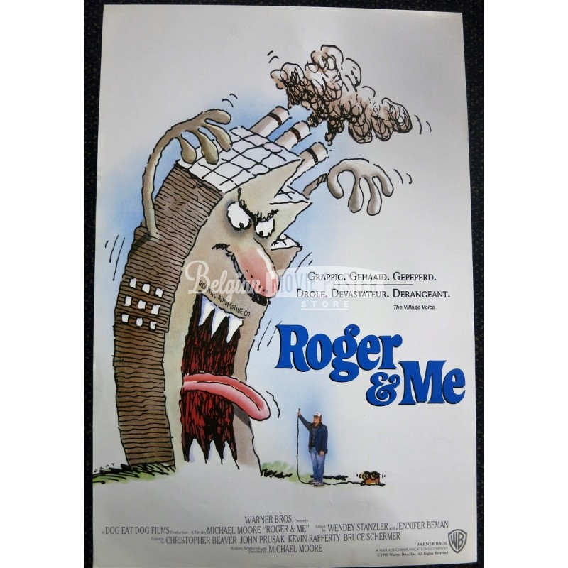 michael moores roger me a sociological film Michael moore is a good filmmaker i have this on no less an authority than steve bannon, the alt-right provocateur turned trump whisperer, in an old clip that moore has helpfully included in his.