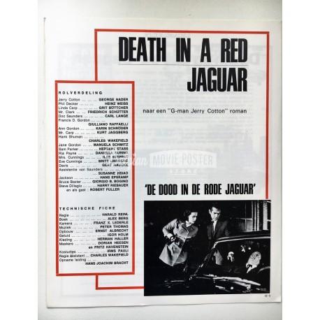 DEATH IN A RED JAGUAR