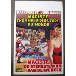 MACISTE, THE STRONGEST MAN IN THE WORLD