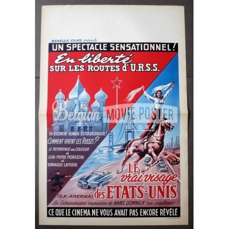 EN LIBERTE SUR LES ROUTES D'URSS + VRAI VISAGE DES ETATS - UNIS