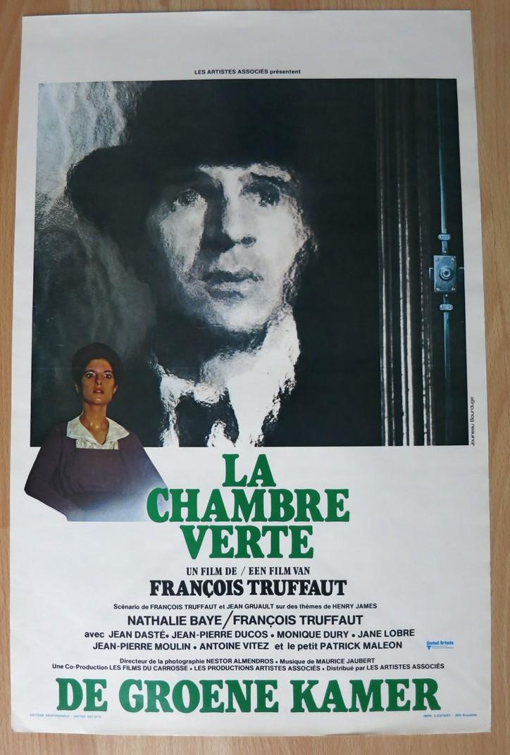 LA CHAMBRE VERTE - Belgian Movie Poster Store