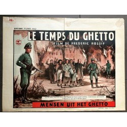 TEMPS DU GHETTO